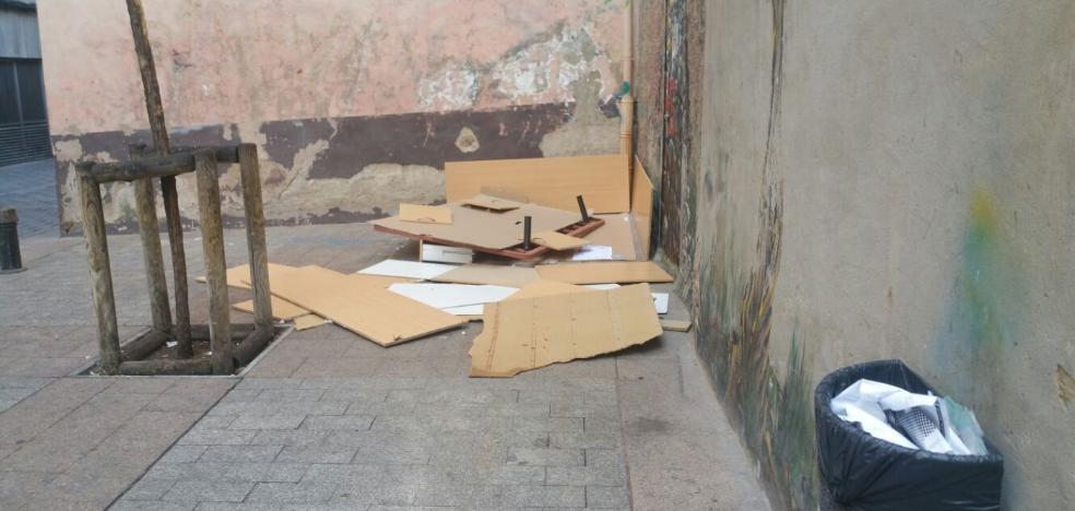 La Guindilla: la plaza del Arbolito, «muy deteriorada»