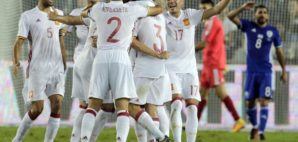 España recupera su papel de favorita en el Mundial ruso