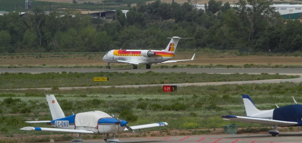 El tráfico de pasajeros crece el 17,7% en Agoncillo