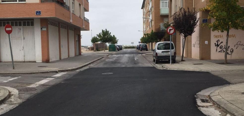 Invertidos 50.000 euros en el bacheo de 40 calles