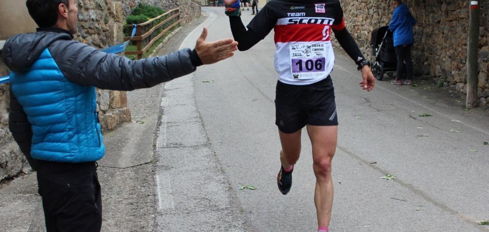 Brieva celebra su Kilómetro Vertical