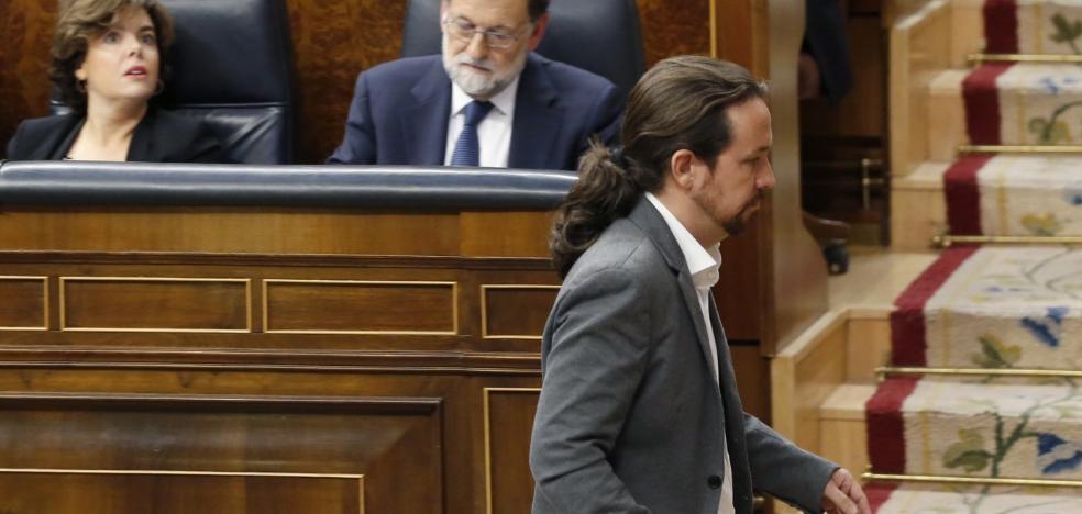 Iglesias culpa al presidente de «romper España» y frena el acercamiento al PSOE