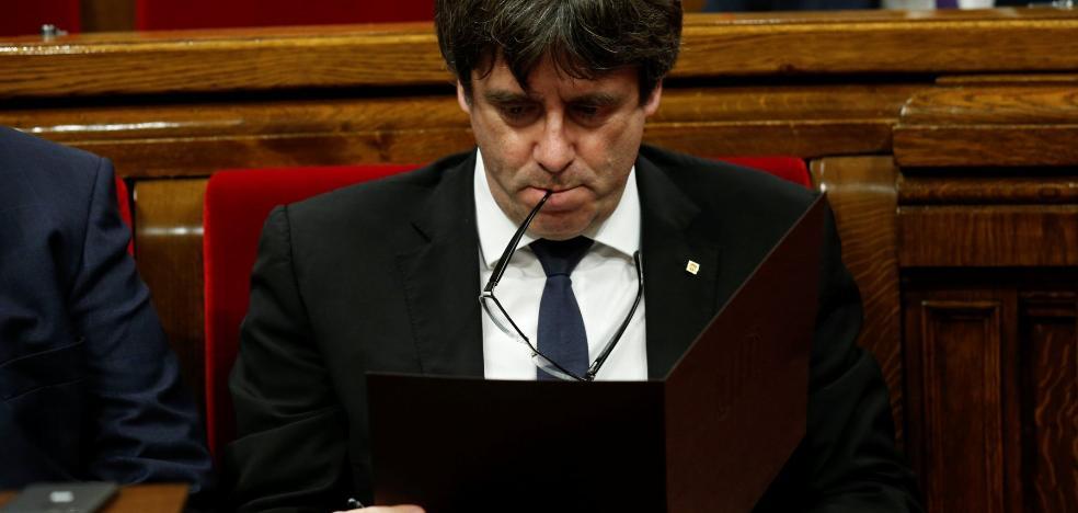 Puigdemont: «Pides diálogo y te responden poniendo el 155 sobre la mesa, entendido»