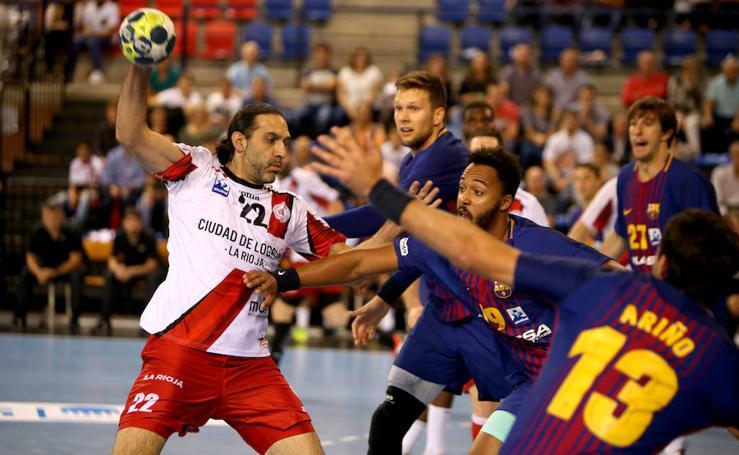 La mejor imagen; el peor rival para el Ciudad de Logroño