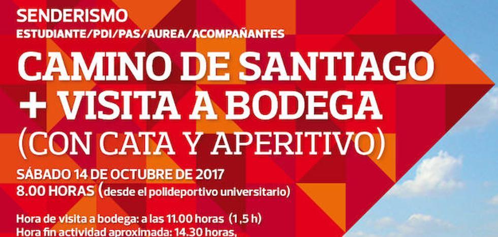 La UR organiza una salida de senderismo este sábado por el Camino de Santiago