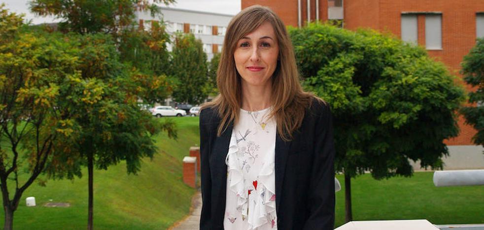 Elena Garrido, doctora de UR con una tesis sobre compuestos nanoestructurados