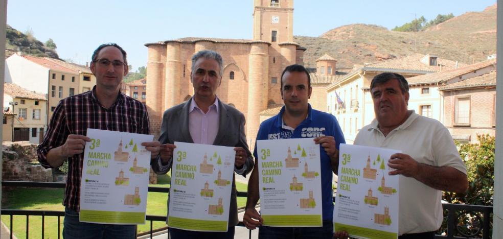 La tercera Marcha del Camino Real será el día 29 desde Nájera hasta San Millán