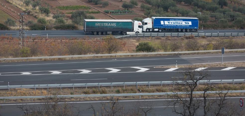 Los descuentos a camiones en la AP-68 solo llegarán al 75% en rutas entre Zambrana y Tudela con VIA-T