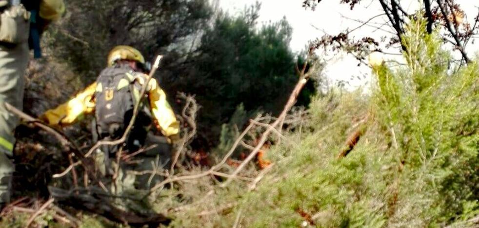 Estabilizado el incendio forestal en Posadas