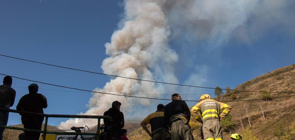 El incendio de Posadas, que ha quemado 98 hectáreas de masa forestal, ya está «controlado»