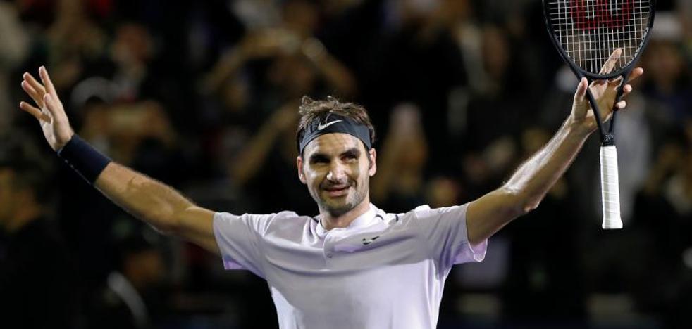 Otra sinfonía de Federer dinamita a Nadal