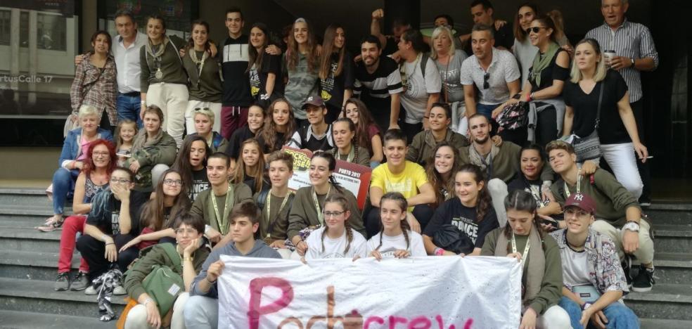 La escuela de baile Harteraphia de Haro gana el campeonato 'Rock da House' en Oporto