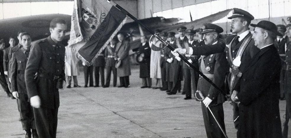 La Retina: jura de bandera en Recajo