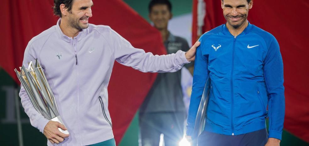 Otra sinfonía de Roger Federer dinamita a Rafa Nadal