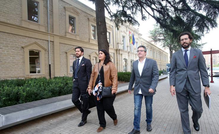 Los concejales de Ciudadanos declaran ante el juez
