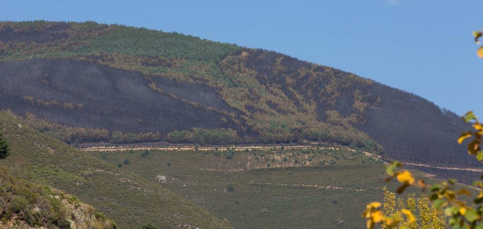 Un incendio que deja al valle en ascuas