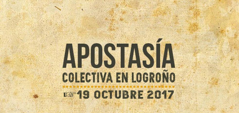 Este jueves, 'apostasía colectiva' en Logroño