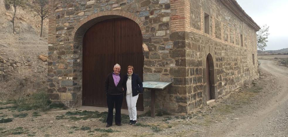 La ermita de Muro de Aguas soluciona sus problemas de humedades