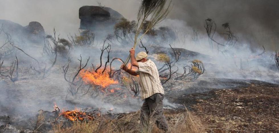 Tejerina: «Estamos preparados para apagar incendios, no para incendiarios»