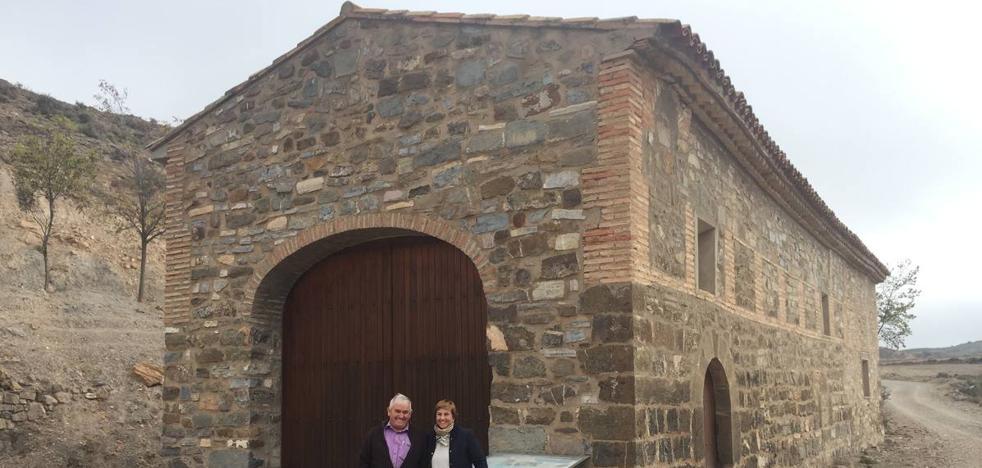 La ermita de Muro de Aguas mejora de sus humedades
