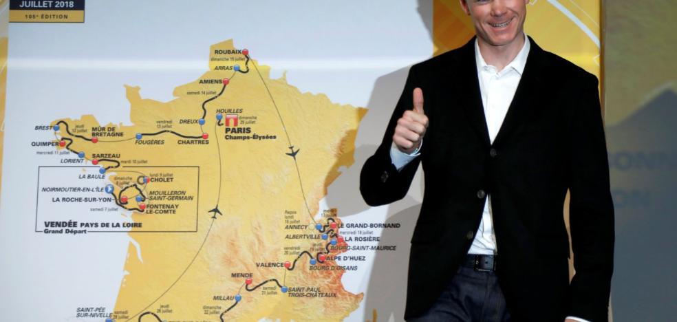 La etapa reina del Tour tendrá  65 kilómetros en los Pirineos