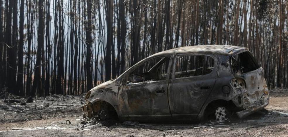 Primer detenido por los incendios en Galicia