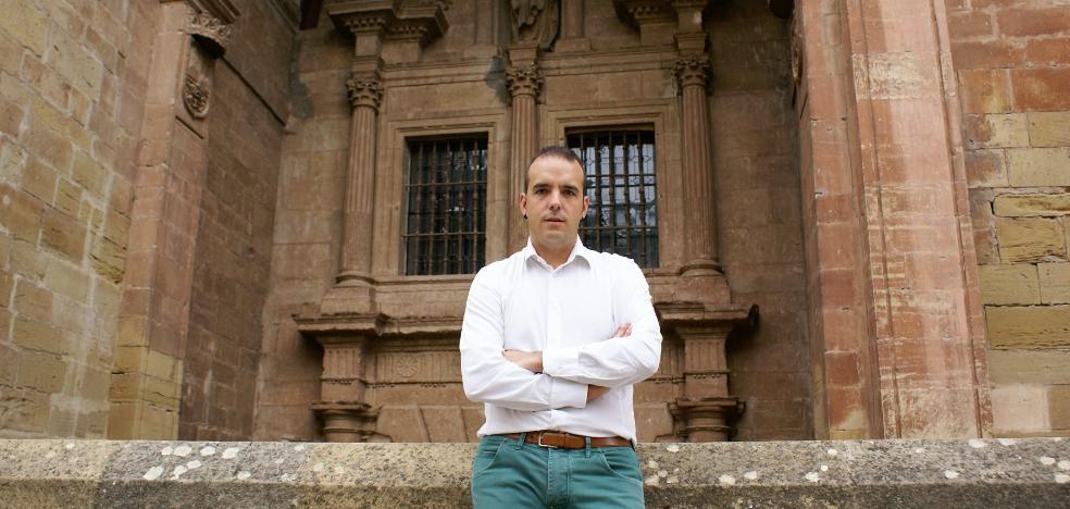 Jonás Olarte, elegido secretario general de los socialistas de Nájera