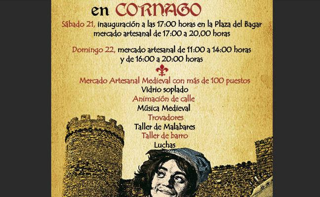 Cornago celebra este fin de semana las XII jornadas de artesanía medieval