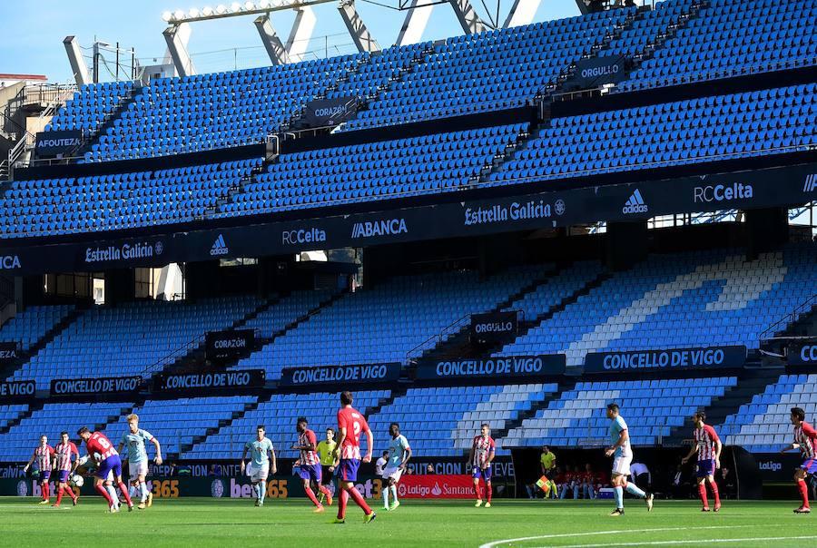 Los mejores momentos del Celta-Atlético, en imágenes