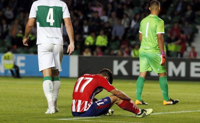 El Elche le saca los colores al Atlético