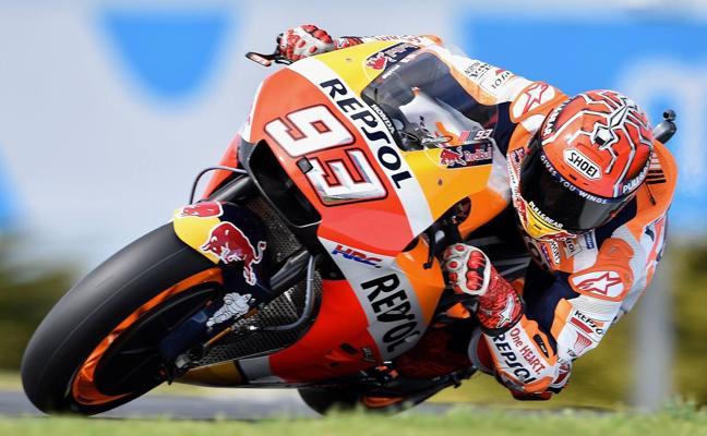 Márquez encara la primera opción de cerrar el Mundial de MotoGP de 2017