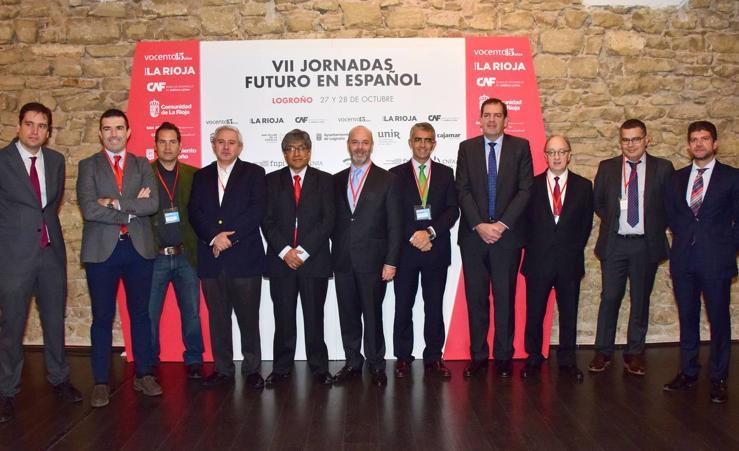 Apertura de la segunda sesión de las VII Jornadas Futuro en Español