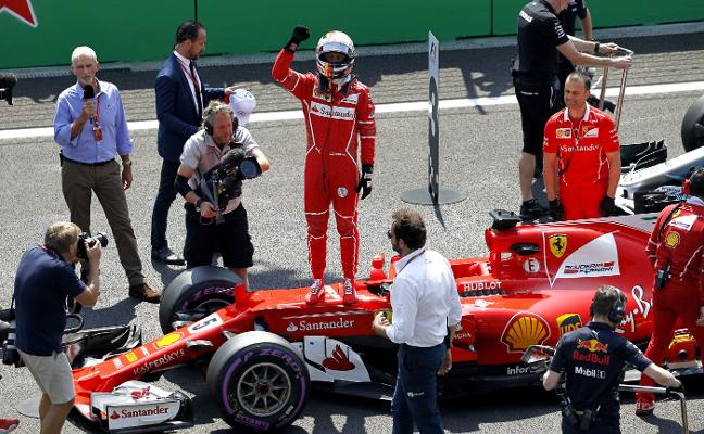 Vettel desafía a la probabilidad