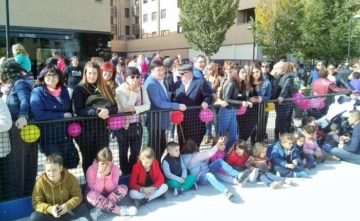 La AECC en Haro celebra el fin de la 'Campaña rosa'