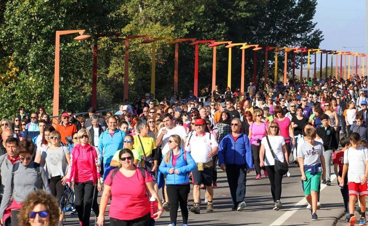 Tres mil 'marchosos' participan en la carrera solidaria a favor de ASPACE Rioja
