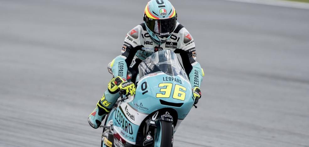 Mir iguala a Gresini y Márquez y ya mira a Rossi
