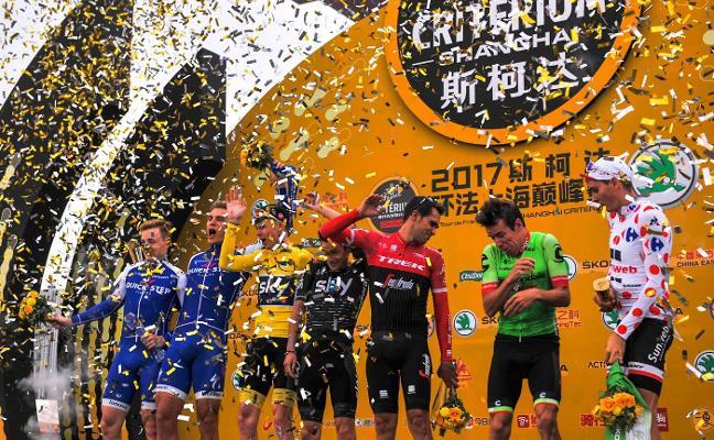 Contador se despidió en Shanghái