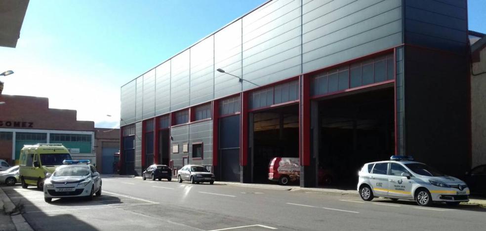 Fallece un trabajador en un almacén de frutas en Calahorra