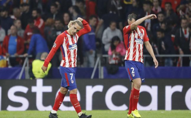 El Atlético de Madrid arruina su brillo europeo