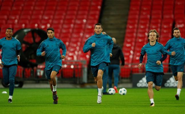 El Madrid visita Wembley