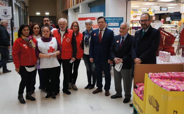 Cruz Roja recogerá entre hoy y mañana alimentos para niños sin recursos