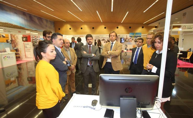 Inauguración del II Salón Inmobiliario de La Rioja