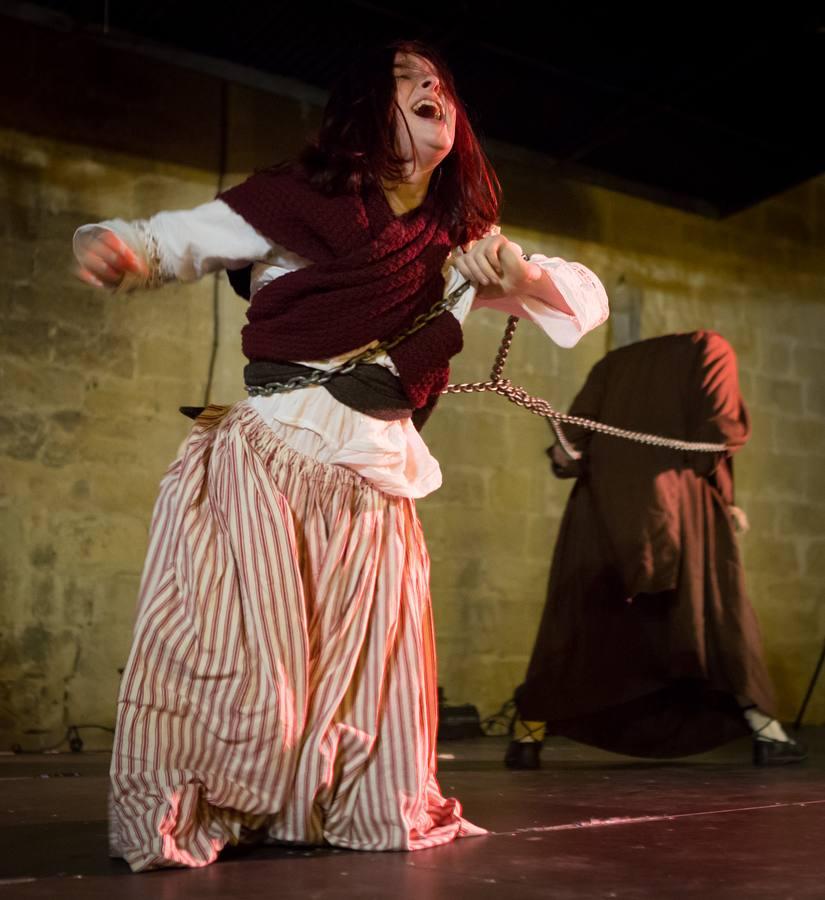 Logroño se llena de brujas para rememorar el auto de fe de 1610