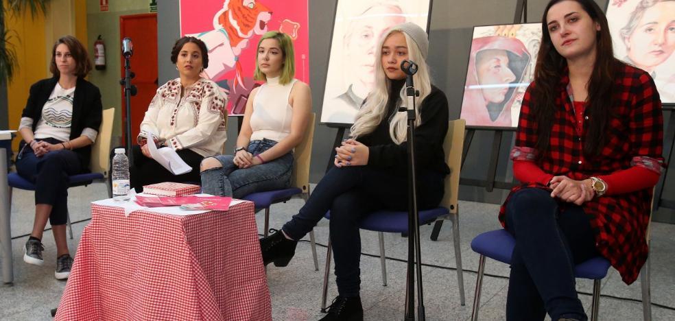 Encuentro 'Hoy creadoras' en el festival 'Artefacto'