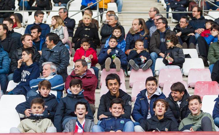Tarde de fútbol, UDL-Arenas en Las Gaunas