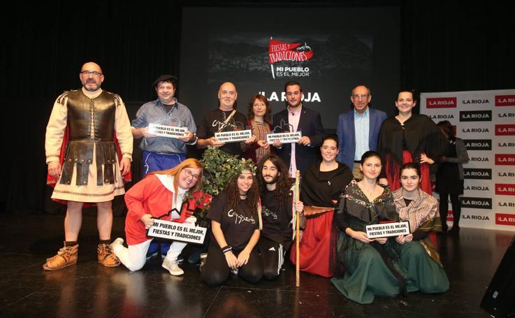 El Auditorio de Logroño acoge la final de 'Mi pueblo es el mejor. Fiestas y tradiciones'
