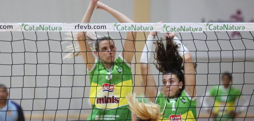 Triple ración de voleibol en La Rioja