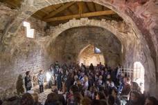 Leza presume con la rehabilitación de la ermita de San Martín
