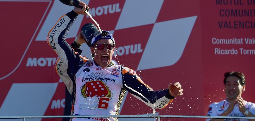 Márquez, campeón al estilo Márquez