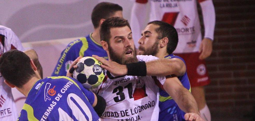 Logroño demuestra que recupera su nivel con la segunda victoria